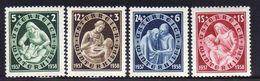 Österreich/Austria 1937 Mi 642-645 * [100118LAIII] - 1918-1945 1st Republic