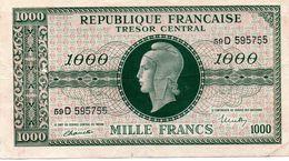 """MARIANNE DE DULAC - Effigie """"marianne De Dulac"""" Sur Billet De Banque (1000F De 1945) - 1871-1952 Anciens Francs Circulés Au XXème"""