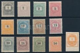 * 1898 ,,E' Sor Hírlapbélyeggel(80.000) (apró Foghibák, A 12kr-on Ránc/ Perf. Faults, Crease On12kr) - Stamps