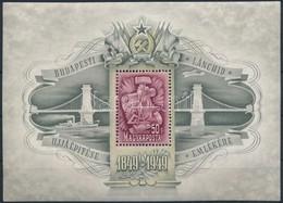 ** 1949 Lánchíd (III.) Blokk (80.000) - Stamps