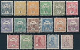 * 1909 Turul Sor 17 érték (* 65.000) - Stamps