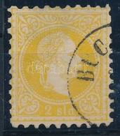 O 1867 2 Soldi 'BUC(AREST)' Bélyegzéssel (55.000) - Stamps