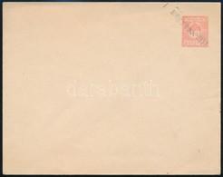 1919 Villányi Provizórium 10f Díjjegyes Boríték 'negyven Fill' Felülnyomással, Használatlan. Csak Néhány Ismert, Garantá - Stamps