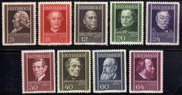 Österreich/Austria 1936 Mi 649-657 * [100118LAIII] - 1918-1945 1st Republic