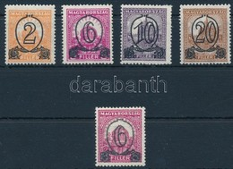 ** * 1931 Kisegítő Sor + 6/8f IX-es Vízjellel, 14:14 1/4 Fogazással (44.000) / Mi 471-474x + 472y 14:14 1/4 Perforation - Stamps