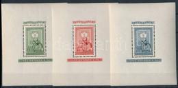 ** 1951 80 éves A Magyar Bélyeg Blokksor (45.000) - Stamps