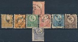 O 1871 Kőnyomat 5kr, Réznyomat Sor 2 Db 2kr-ral (30.500) - Stamps