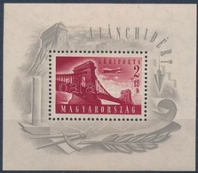 ** 1948 Lánchíd (I.) Blokk (30.000) - Stamps