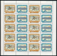 ** 1974 Bélyegnap (47.) - Aerofila (III.) Hajtott Teljes ívsor (20.000) - Stamps