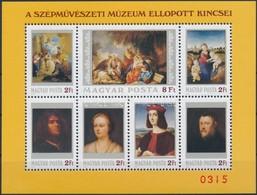 ** 1984 Festmény XXII. Ajándék Blokk (25.000) / Mi Block 170 Present Of The Post - Stamps
