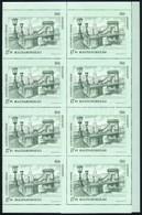 ** 1993 Budapest Nevezetességei 20 Sor Hajtott Teljes ívekben (25.000) - Stamps