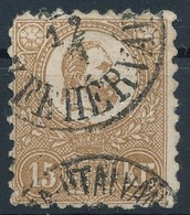 O 1871 Kőnyomat 15kr Rövid Sarokfog Sign: Bühler - Stamps