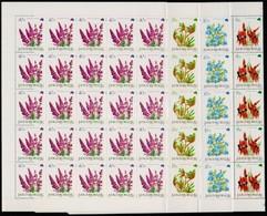 ** 1992 Ausztrália Virágai 50 Sor Hajtott Teljes ívekben (27.500++) - Stamps