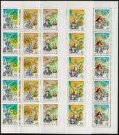 ** 1991 Amerika Felfedezése 50 Sor Hajtott Teljes ívekben (20.000++) - Stamps