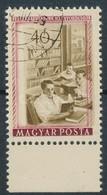 O 1955 Felszabadulás 40f A Középrész Elcsúszásával - Stamps