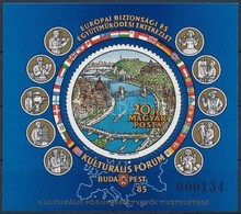 ** 1985 Európai Bizottsági és Együttműködési értekezlet AJÁNDÉK Blokk (24.000) - Stamps