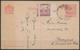 1916 Arató 3f Erősen Elfogazva Helyi Levelezőlapon - Stamps