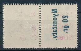 ** 1946 Betűs Nyomtatv.20g/60f/8f Pár, Az Egyik érték A Felülnyomat Gépszínátnyomatával, Ritka! - Stamps