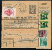 1946 Inflációs Szállítólevél 24 Bélyeges Bérmentesítéssel - Stamps