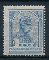 ** 1913 Turul 2K A Keretbe Tolódott értékszámmal - Stamps