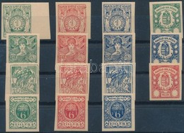 * 1900 Turul Bélyegtervek 31 Különféle Nyomata - Stamps