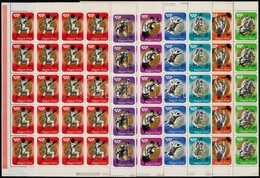** 1973 Olimpiai érmesek 35 Sor ívdarabokban (11.550) - Stamps