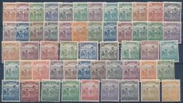 ** 1920-1924 Arató Sor + Hármaslyukasztású Sor (14.000) - Stamps
