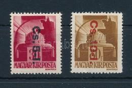 ** 1946 Betűs Cs.5-I./30f  + Cs.10.-I./80f (16.000) / Mi 860-861 - Stamps