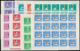 ** 1970 Magyar Olimpiai Bizottság 35 Sor 35-ös összefüggésekben (12.250) - Stamps