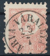 O 1871 Kőnyomat 5kr ,,ÁRVA-VÁRALLYA' Alul Rövid Fogak - Stamps