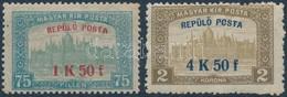 * 1918 Repülő Posta Sor (* 10.000) - Stamps
