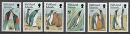 Falkland Island MNH Michel Nr 538/43 From 1991 / Catw 19.00 EUR - Falklandeilanden