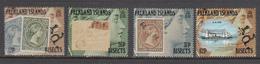 Falkland Island MNH Michel Nr 544/47 From 1991 / Catw 10.00 EUR - Falklandeilanden