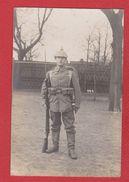 Carte Photo -  Soldat Allemand - Uniformes