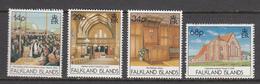 Falkland Island MNH Michel Nr 557/60 From 1992 / Catw 11.00 EUR - Falklandeilanden