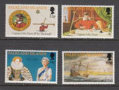 Falkland Island MNH Michel Nr 565/68 From 1992 / Catw 11.00 EUR - Falklandeilanden