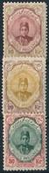 * Irán 1911 Sor Utolsó 3 értéke Garancia Nélkül / No Guarantee (Mi EUR 305,-) - Stamps