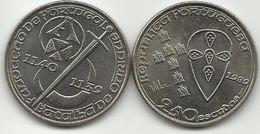 250 Escudos (250$$00) - Fundação De Portugal-Batalha De Ourique - 1989 - Cu-NI - UNC - See Photos - Portugal