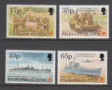Falkland Island MNH Michel Nr 644/47 From 1995 / Catw 14.00 EUR - Falklandeilanden