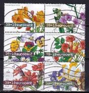 2003 Zomerzegels Complete Gestempelde Serie In Blokje € 0,39 + 0,19  NVPH 2164 / 2169 - Periode 1980-... (Beatrix)