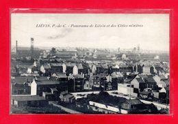 62-CPA LIEVIN - PANORAMA DE LIEVIN ET DES CITEES MINIERES - Lievin