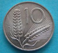 Italia Repubblica  10 Lire  1956 FDC - 1946-… : République
