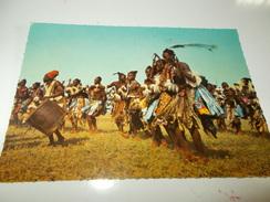 B674  Nigeria Danzatori Viaggiata - Nigeria