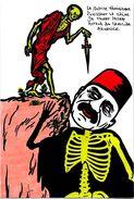 CPM Arménie Turquie Satirique Caricature Turkey Kaiser Arménia Talaat PACHA Génocide Arménien - Arménie
