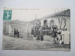 ALGERIE  -  BORELY-LA-SAPIE   -  RUE  DU  CENTRE          TRES  ANIME     TTB - Algeria