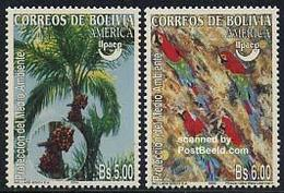 Bolivia 2004 UPAEP 2v, (Mint NH), Nature - Environment - Trees & Forests - Parrots - Stamps - .. - Bolivia
