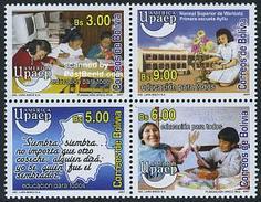 Bolivia 2007 UPAEP 4v [+], (Mint NH), Science - Education - Stamps - U.P.A.E. - Bolivia