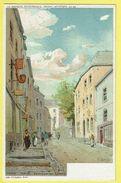 * Arlon (Luxembourg - Wallonie) * (Belgique Pittoresque, édition Artistique 28-48 - Lith Goffart) Escalier Saint Donat - Arlon
