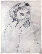 Degas - étude Pour Madame Hertel - Publicité Médicale Equigyne (lab. Toraude ) - Non Classés