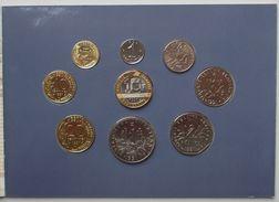 - FRANCE - Monnaie De Paris. Série BU 1991 - Coffret De 9 Monnaies - - France